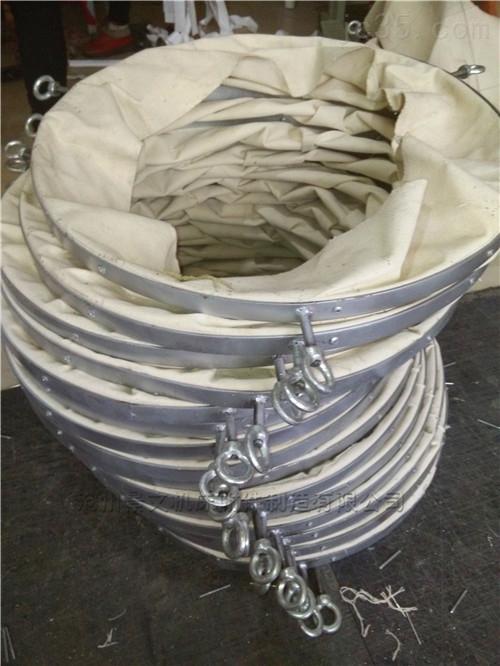 吊环式水泥罐车输送帆布袋的势