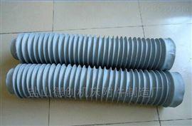 自定耐高温风道口硅胶布通风伸缩软连接