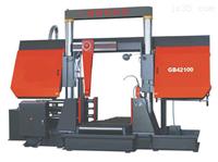 廣速GB42100液壓雙柱龍門式帶鋸床無級調速