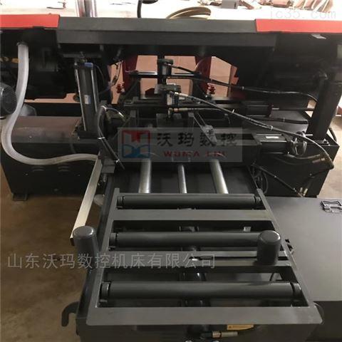 全自动数控金属带锯床GZ4230数控锯床