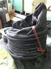 电厂卸灰用耐温帆布伸缩布袋生产厂家