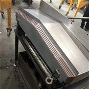 台群精机金属切削机床钢板防护罩厂家定做