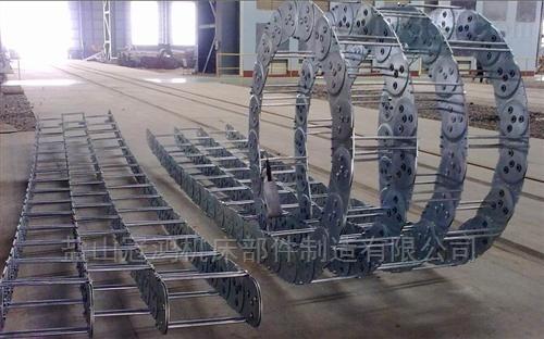 定制封闭式穿线电缆钢制坦克链