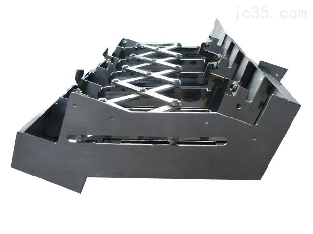 垂直导轨钢板防护罩