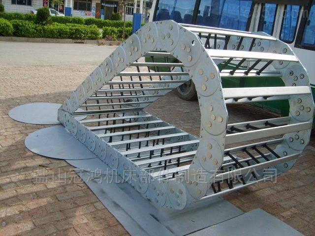 专业生产机床钢制拖链坦克链