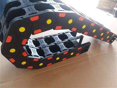 全规格塑料尼龙钢制钢铝坦克链桥式全封闭电缆