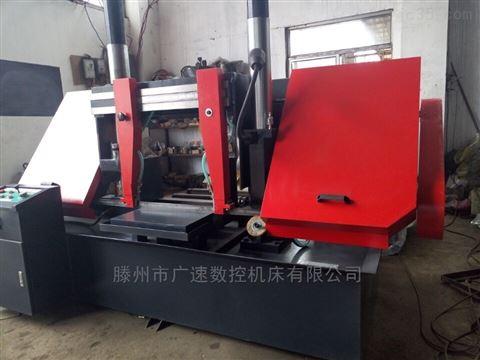 GB4240金属带锯床无极调速,切削精度高