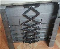 齐全Z轴立柱不锈钢板伸缩护罩