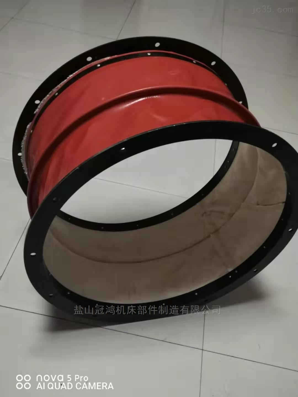 定制大口径风机硅胶布软连接