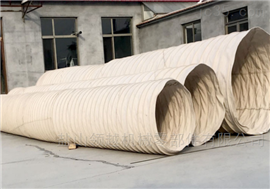 广西加厚帆布水泥输送除尘伸缩布袋