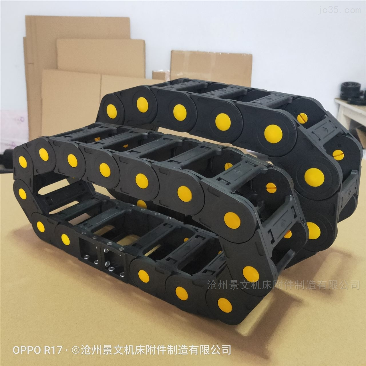 徐州机械设备25*38塑料拖链厂家现货