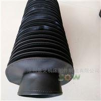 圆形拉链式橡胶布油缸护套沧州厂家
