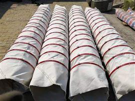 水泥輸送帆布袋  除塵伸縮布袋新品上市