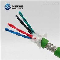 埃因ANF9012聚氨酯拖链电缆带屏蔽高速移动