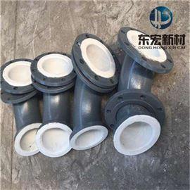 DN65厂家200供应聚四氟乙烯紧衬管件