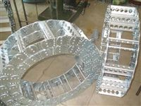 石材抛光机穿线钢铝拖链