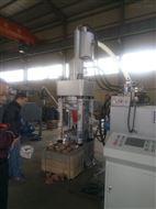 鑫源銅屑壓塊機A自動送出料器節約勞動力