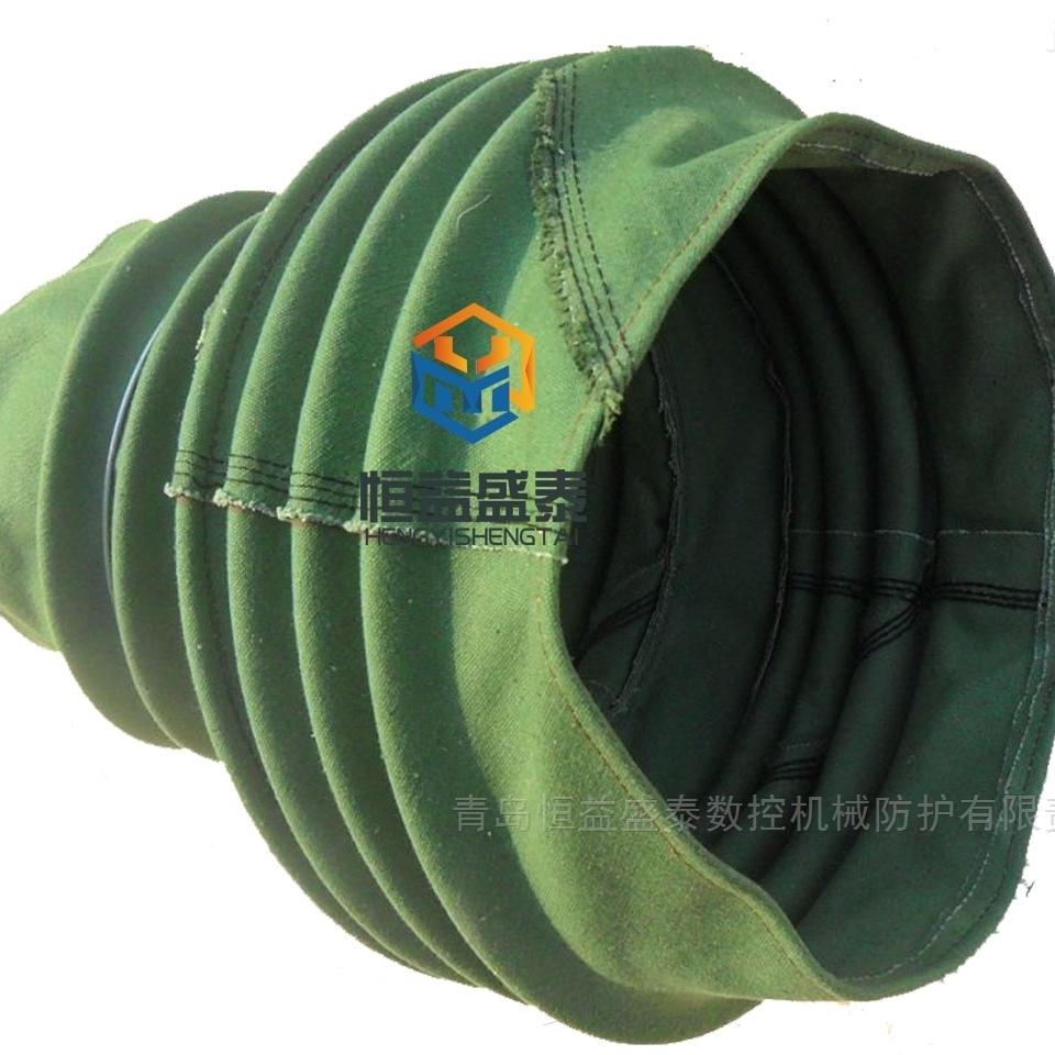 厂家定做耐高温风琴式防护套圆形丝杠保护套