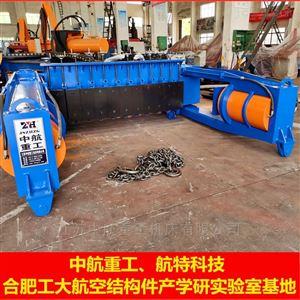 ZHWD-300T50号国标工字钢顶弯机 圆管弯弧机 槽钢弯圆