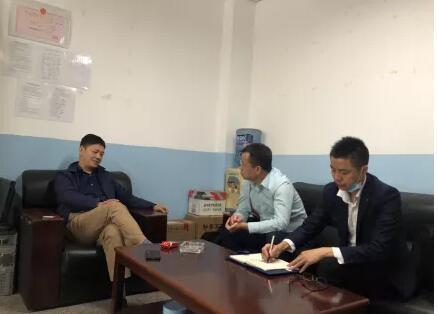 成都市模具工业协会会员企业模德宝公司领导到访协会秘书处