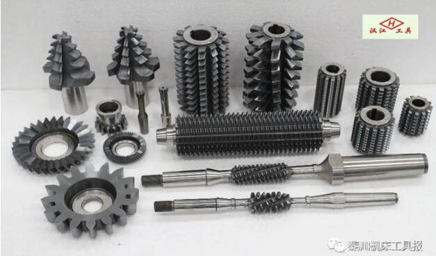 秦川产品展示:高精高效系列滚齿刀具