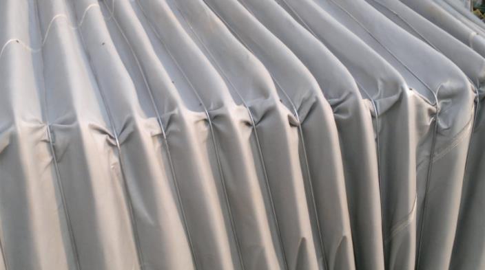 矩形帆布软连接